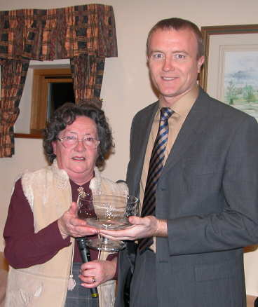 Shaun Udal Hampshire Cricket Society Player of the Year 2002