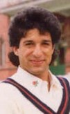 Portrait of Wasim Akram