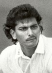 Portrait of Ravi Shastri