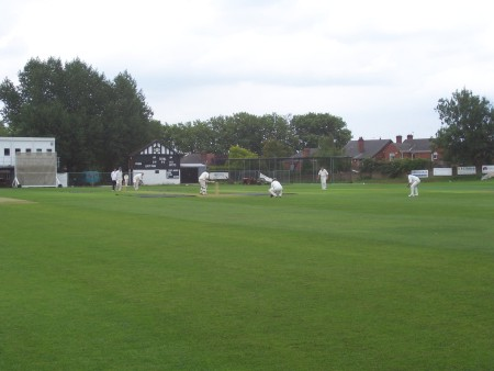 View of Rotherham Town CC Ground