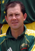 RT Ponting - Player Portrait