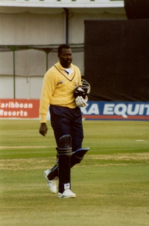Franklyn Stephenson in one-day gear
