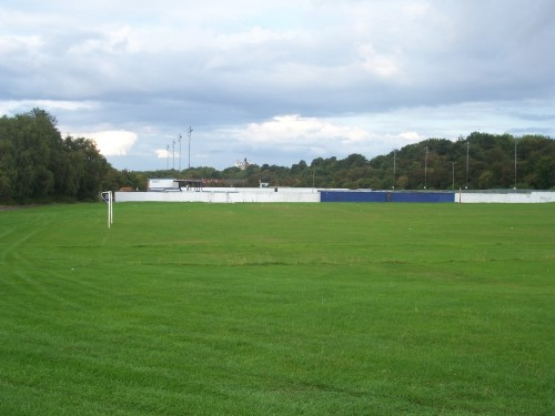 Pontefract CC Ground - now a football pitch