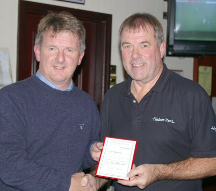 John Ashworth receives Life Membership