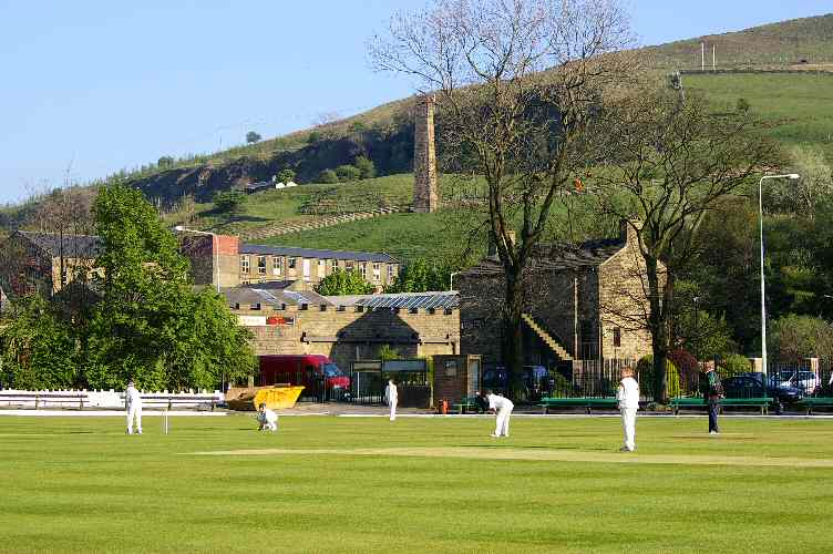 Rawtenstall Cricket Club Scene May 2007