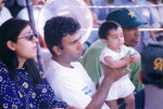 Saeed Anwar with his Family