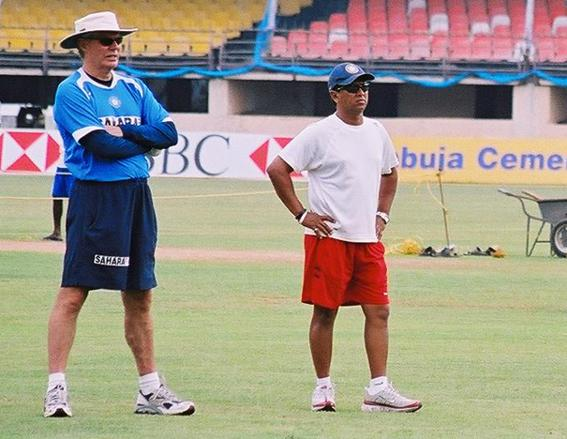 Greg Chappell and Kiran More