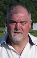 Portrait of Mike Gatting