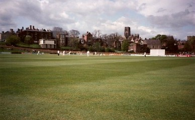 Durham v Leicestershire in 1992