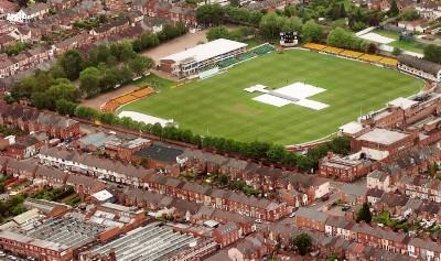 Aerial view of Grace Road in 2007