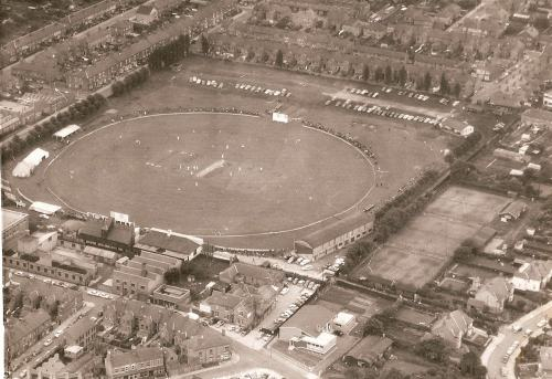 Aerial view of Grace Road