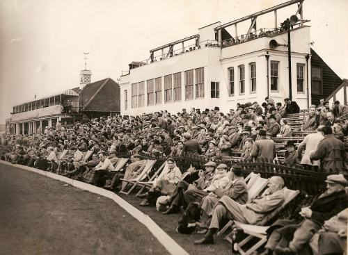 Another view of the crowd for the 1956 Australians match
