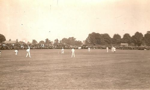 Leicestershire v Warwickshire 1911