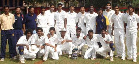 Vinoo Mankad Trophy South Zone Runner-Up 2007/08