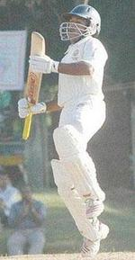 VA Jagadeesh is thrilled after his maiden century