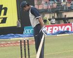 Robin Uthappa during a practice session