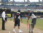 Yuvraj Singh has chat with curator