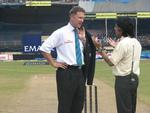 Chris Broad and Rameez Raja chat on the eve of the Second ODI