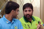 Chat with Ganguly and Inzamam