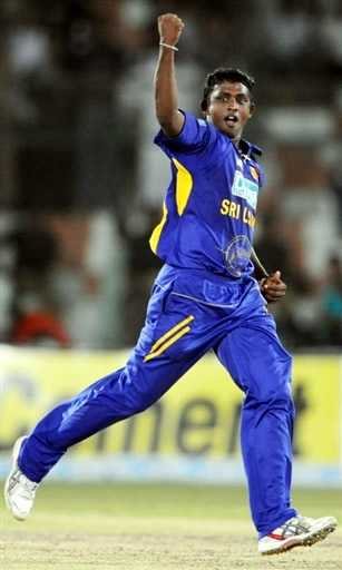 Ajantha Mendis declared Man of the Match & helped Sri Lanka to lift Asia Cup 2008