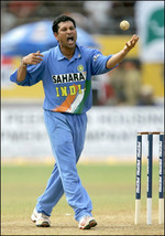 Sachin Tendulkar during his five-wicket haul
