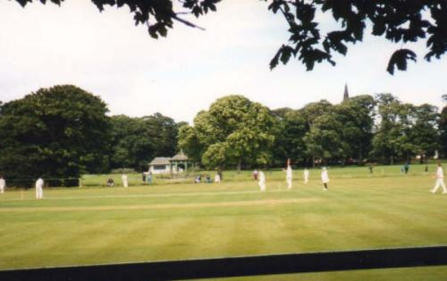 View of Hall Park Ground