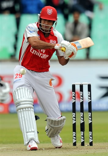 Irfan Pathan plays a shot
