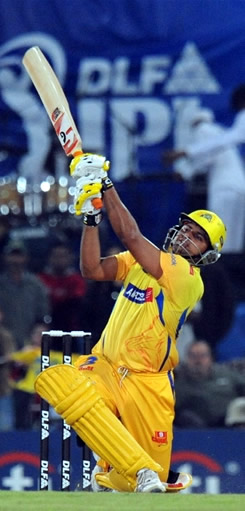 Suresh Raina 98 off 55 helps Chennai Super Kings win