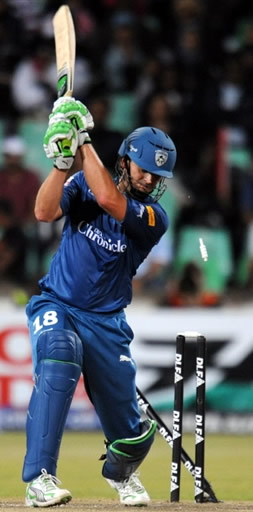Adam Gilchrist is bowled by Sangwan