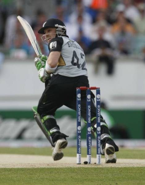 McCullum gets one away