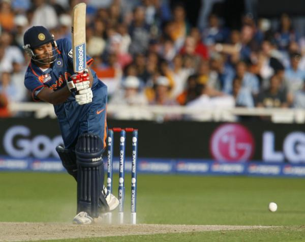 Rohit Sharma plays on the leg side