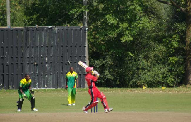 Usman Limbdada hits six for Canada