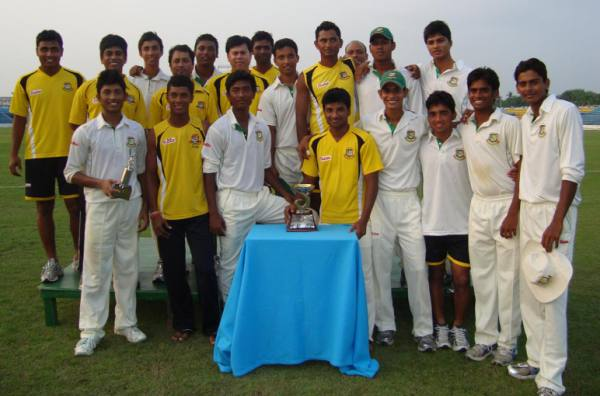 The Bangladesh Under 19 team