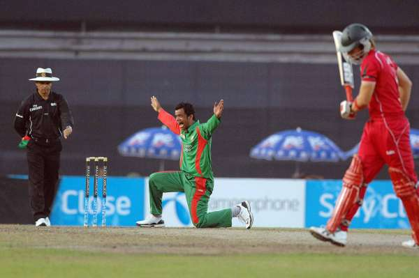 Razzak exults after getting his second career five for 29
