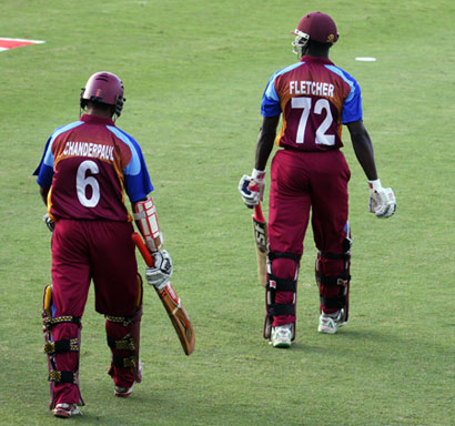 Chanderpaul and Fletcher