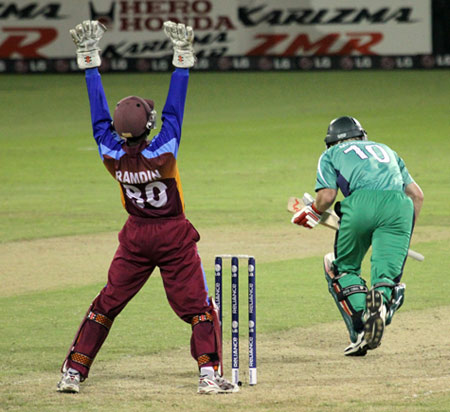 Dinesh Ramdin appeals successfully