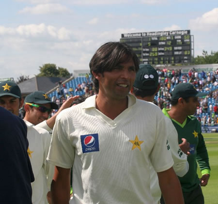Mohammad Asif celebrates historic win over Australia