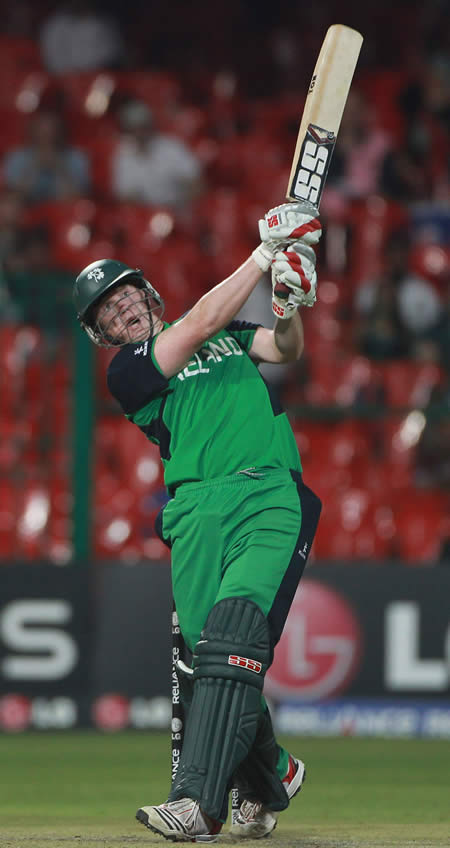 Kevin O'Brien blazing ton leads Ireland historic win over England