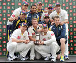 Australia retained the Trans-Tasman Trophy despite losing the second Test