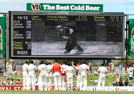 New Zealand watch as a decision is reviewed