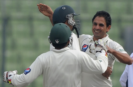 Abdur Rehman finished with career-best figures of 4 for 51