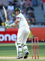 Peter Siddle guides one fine