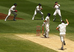 Gautam Gambhir is caught in the slip cordon