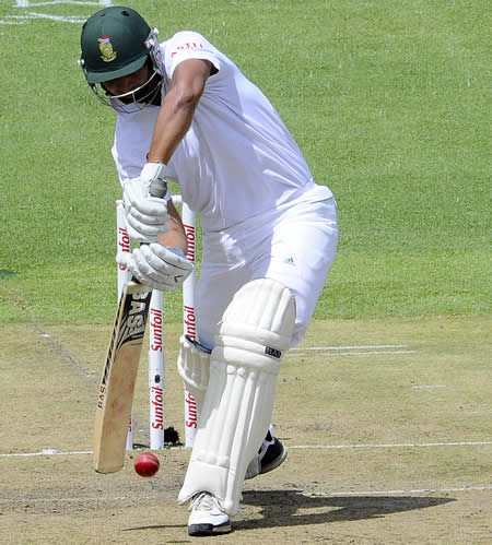 Alviro Petersen was assured on his Test return