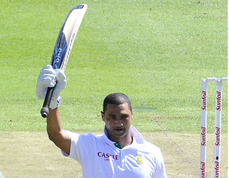 Alviro Petersen made his second Test century