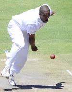 Vernon Philander bowled with skill and energy on the third morning