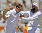 Dale Steyn was in top form on the third morning