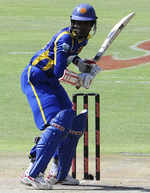 Upul Tharanga made his second successive half-century