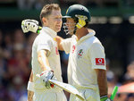 Michael Clarke and Ricky Ponting put on 386 for the fourth wicket