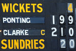 Ricky Ponting and Michael Clarke put on another mammoth stand